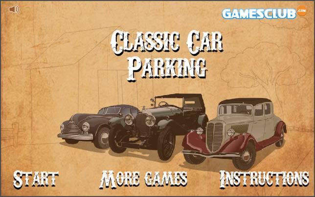 Truck Game : Classic Car Parking