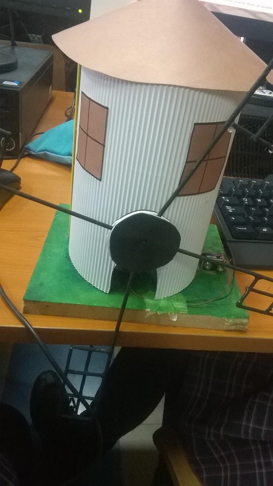 Molino de Viento Eléctrico.: Cómo hacer un molino de viento.