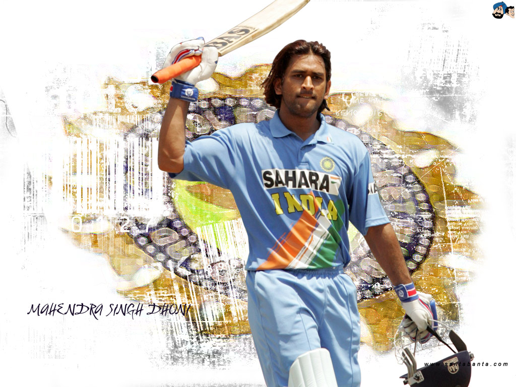 Hairstyle And Haircare Mahendra Singh Dhoni With Long Hairstyle