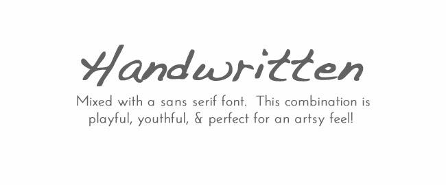 Font Handwriting Dakota