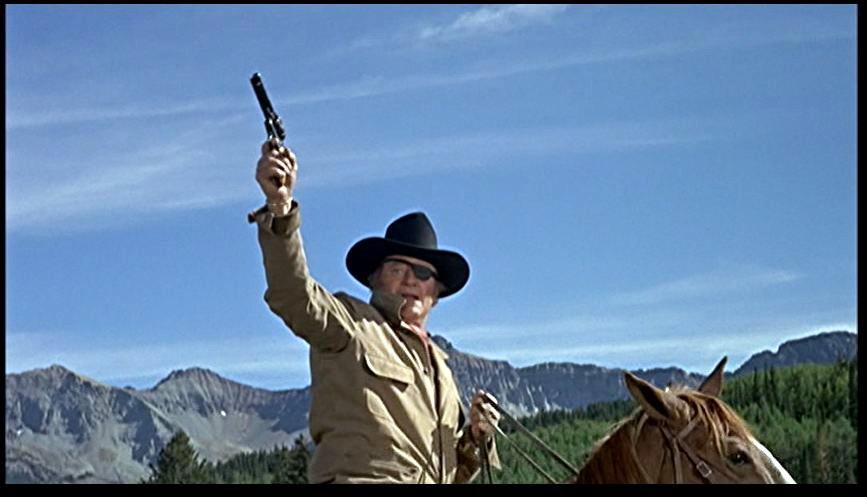 John Wayne True... John Wayne On Horseback