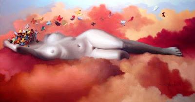 """Mujer desnuda"" Diego Fernando Céspedes"