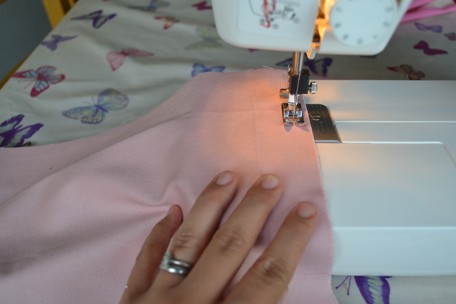kitchen table sewing how to make a pe bag