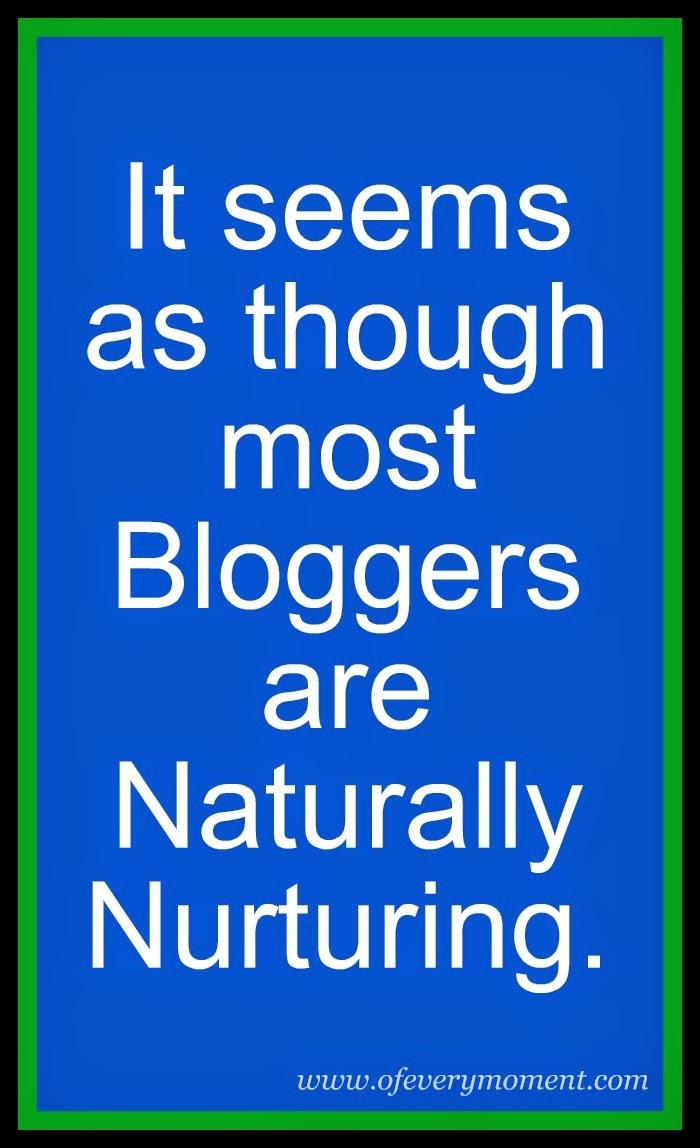 bloggers, nurturing