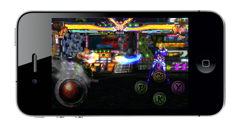 Street Fighter Tekken iPhone