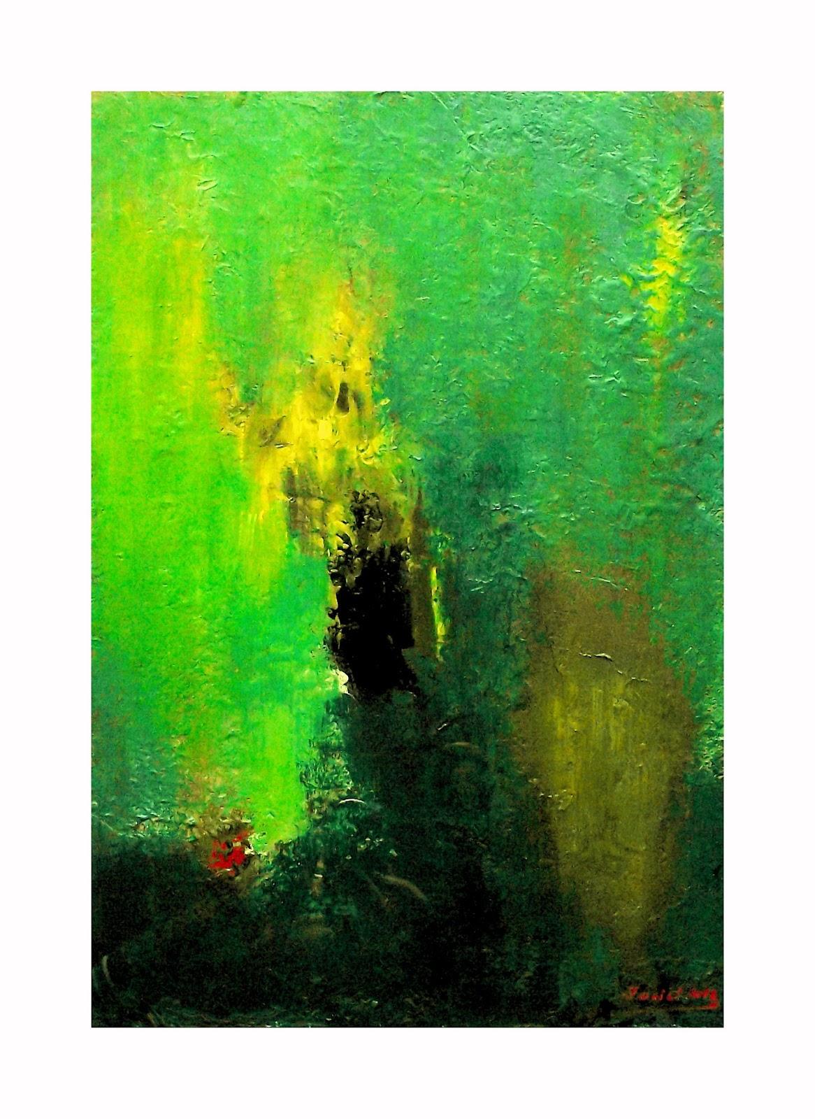 Mis cuadros pintura abstracta los colores de la abstracci n 4 - Cuadros de colores ...