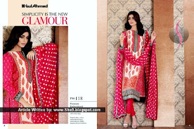 What's New in Gul Ahmed Midsummer Dresses