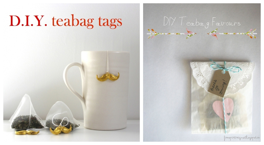 One lump or two diy teabag wedding favours diy teabag wedding favours junglespirit