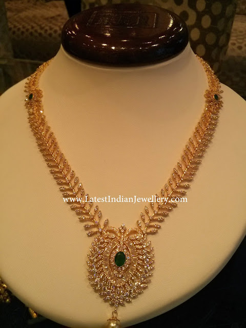 Dazzling CZ Long Necklace