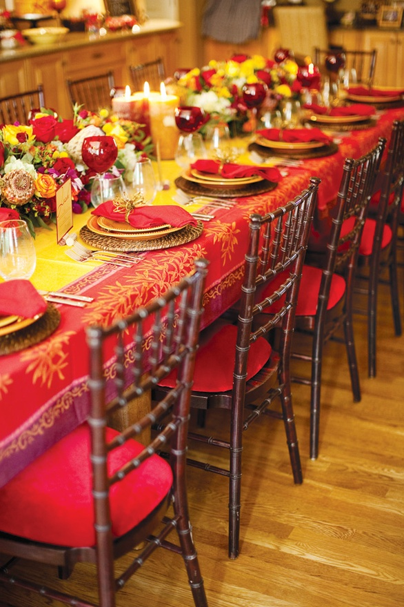 Ciao newport beach autumn dinner party ideas decor Fall decorating ideas for dinner party