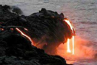 Los volcanes cambian la fisonomía del planeta