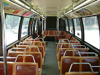 walt disney world bus interior