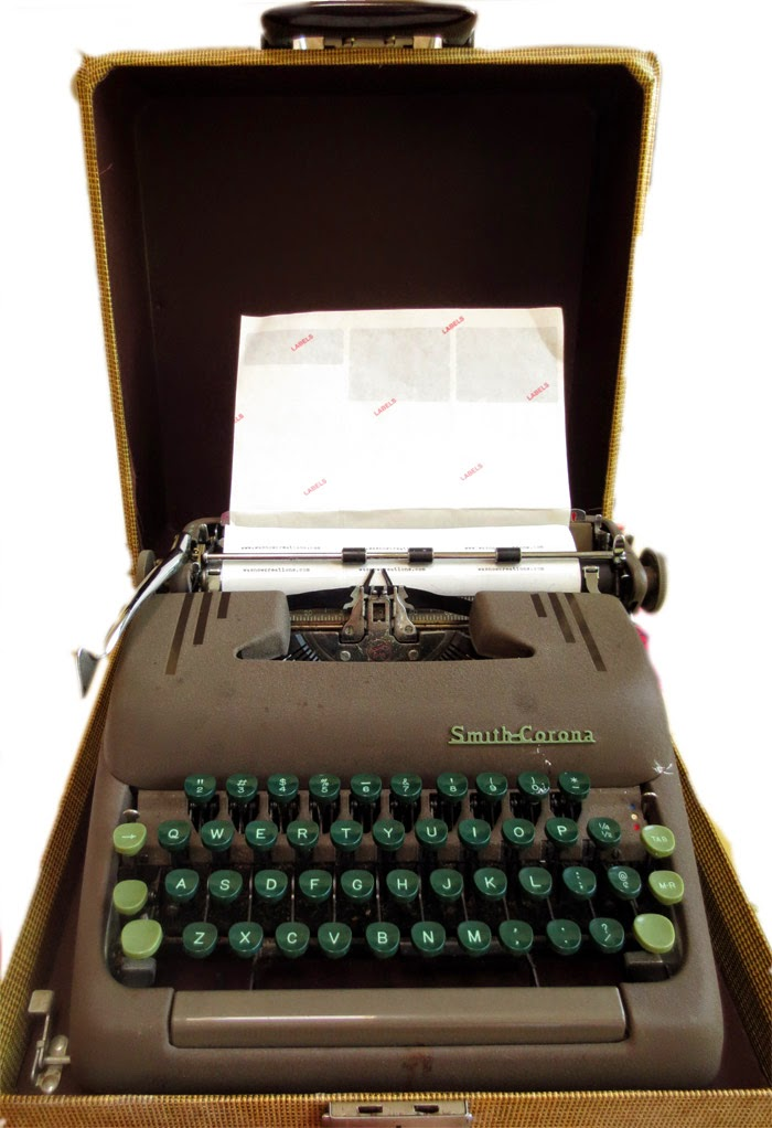Old Smith Corona typewriter