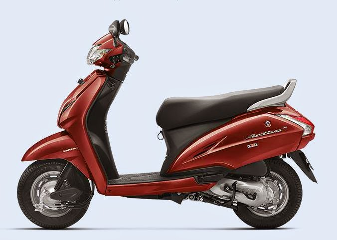 Honda Activa 3G Red Color
