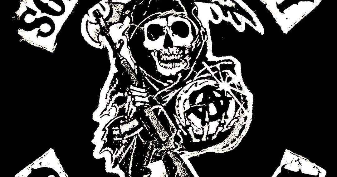 sons of anarchy reaper logo android wallpaper best