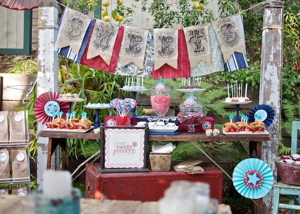 Borboleta decoraci n fiesta vintage for Decoracion fiesta vintage