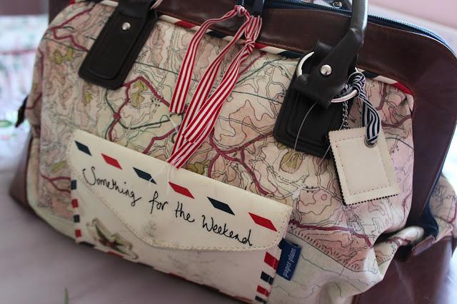 disaster designs paper plane weekend bag