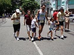Correr em família