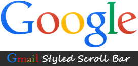 gmail like scrollbar for blogger