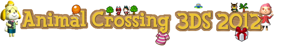 Animal Crossing 3DS 2012