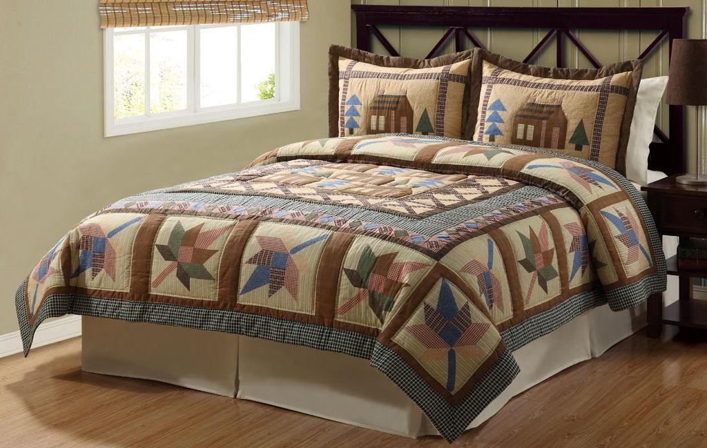 lodge bedding sets