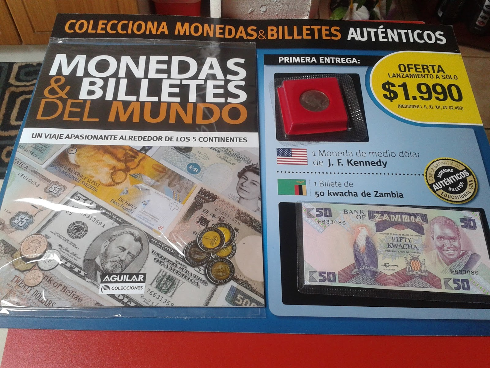 Monedas en chile monedas y billetes del mundo colecci n lun for Coleccion cuchillos el mundo