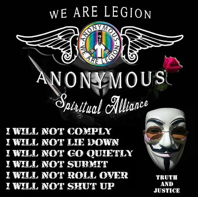 Anonymous reveals Bank of America secrets - ParAnoIA - Anonymous Spiritual Alliance - I will not comply, I will not lie down, I will not go quietly, I will not submit, I will not roll over, I will not shut up
