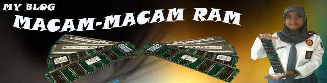 Macam-Macam RAM