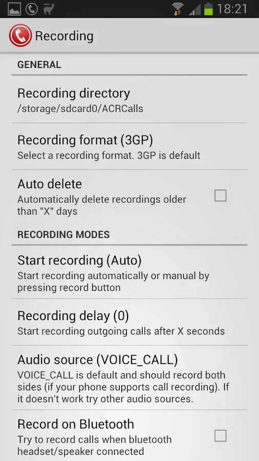 Call Recorder - ACR Premium v8.5