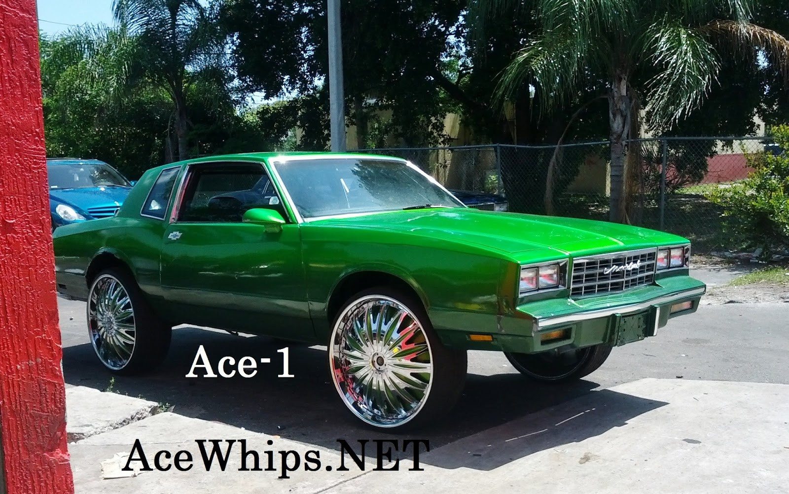 Ace 1 Candy Green Chevy Monte Carlo On 26 Quot Davin Emotion