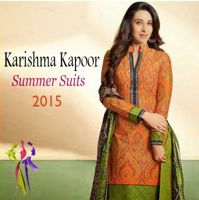Karishma Kapoor Casual Summer Suits Collection 2015