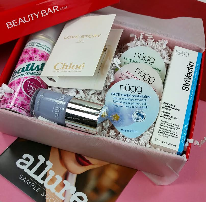 Allure Sample Society February 2015 Review | Bits and Boxes