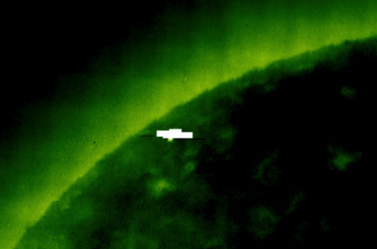 Giant UFO Caught Near Suns Surfaces 2015, UFO Sightings