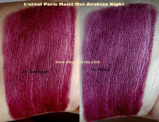 L'Oreal Color Riche Moist Mat Lipstick #Arabian Night