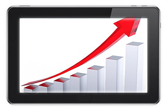 Tabletele se dovedesc dispozitive ideale pentru activitati de comert online