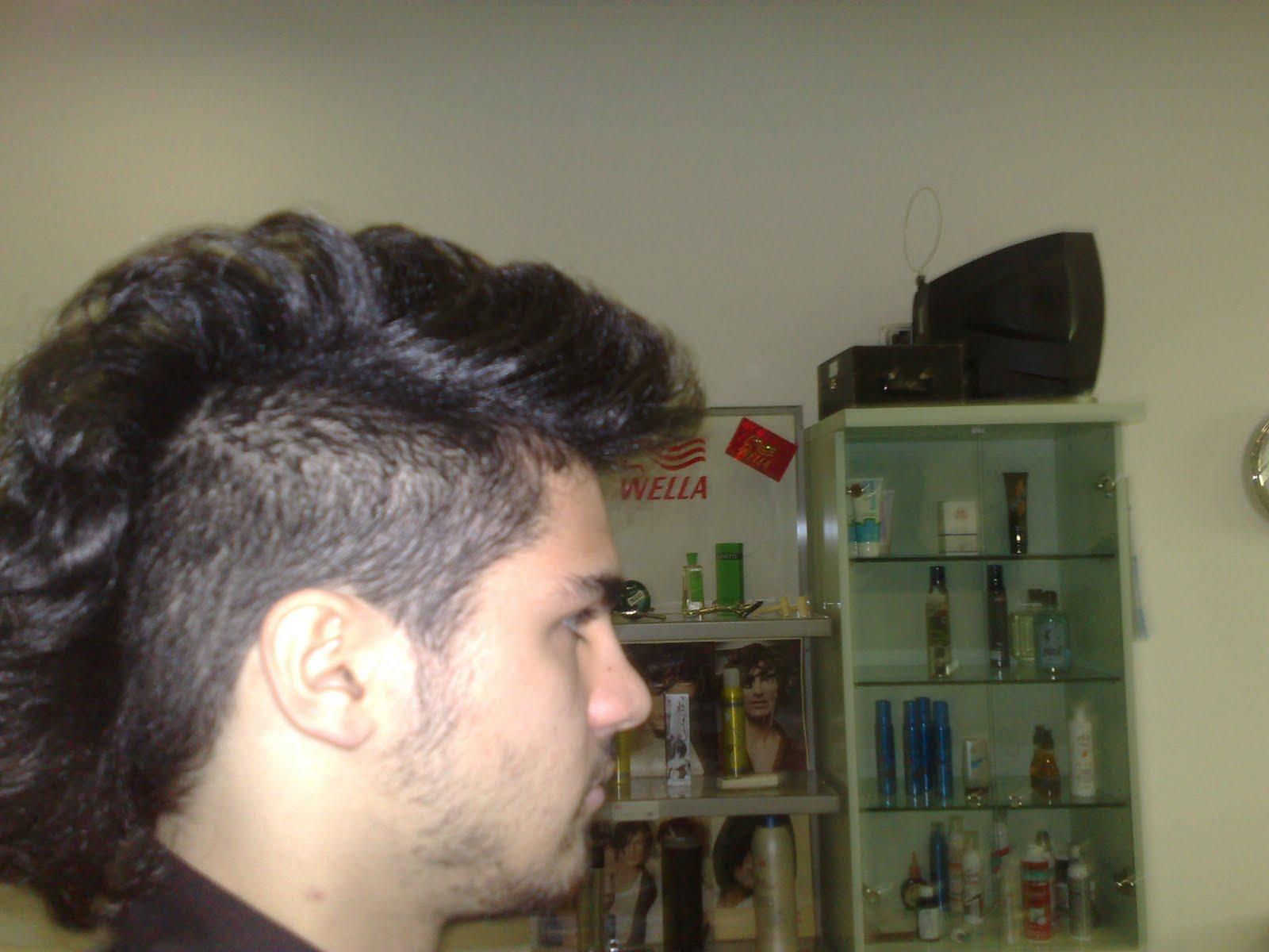 Tagli di capelli uomo cresta 2013