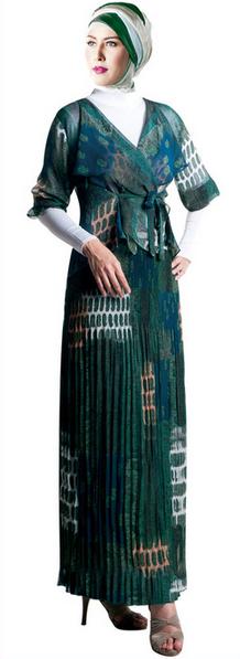 10 Contoh Kebaya Muslim untuk Wisuda Model Baru