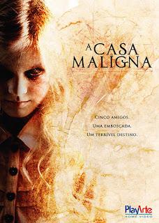 A Casa Maligna - DVDRip Dual Áudio