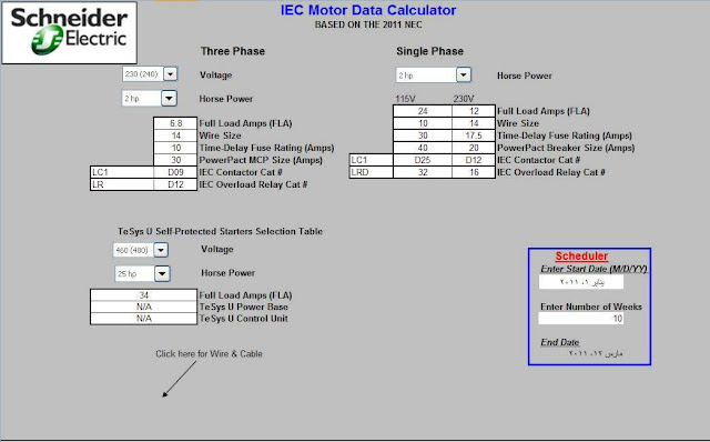 electrical load calculation formulas excel sheet mike