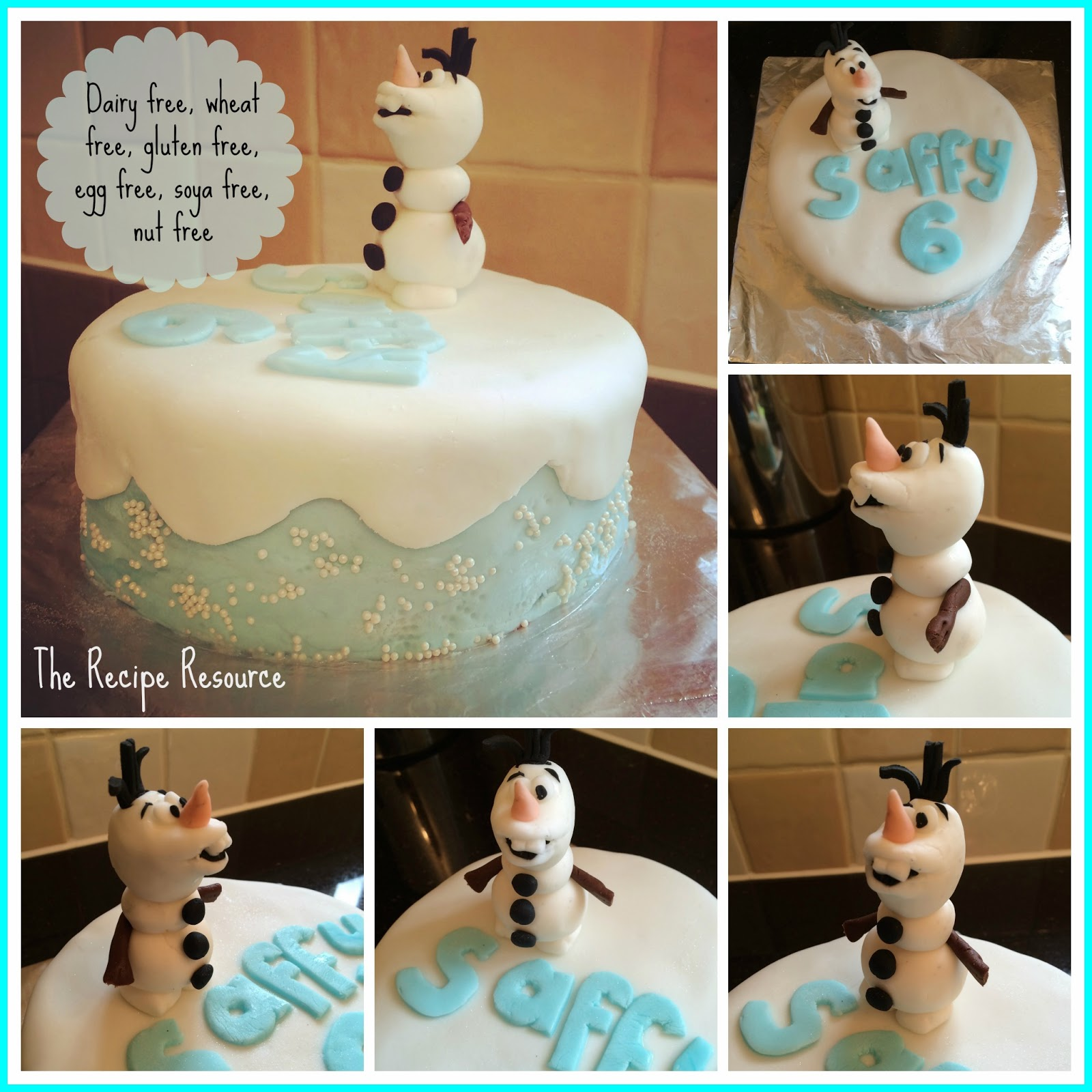 The Recipe Resource A Frozen Free From Birthday Cake