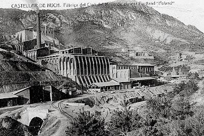 fabrica clot del moro asland abandono tren cement cemento