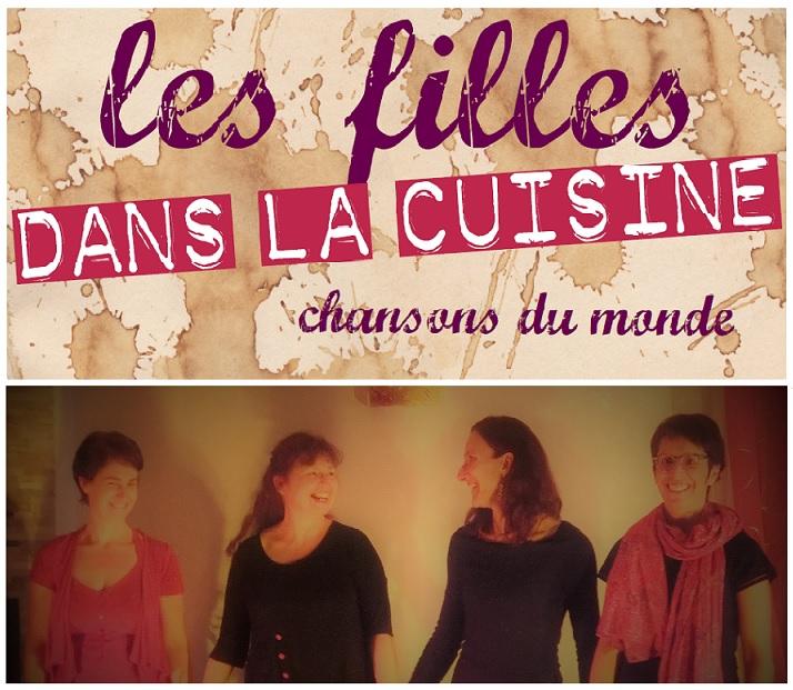les filles dans la cuisine