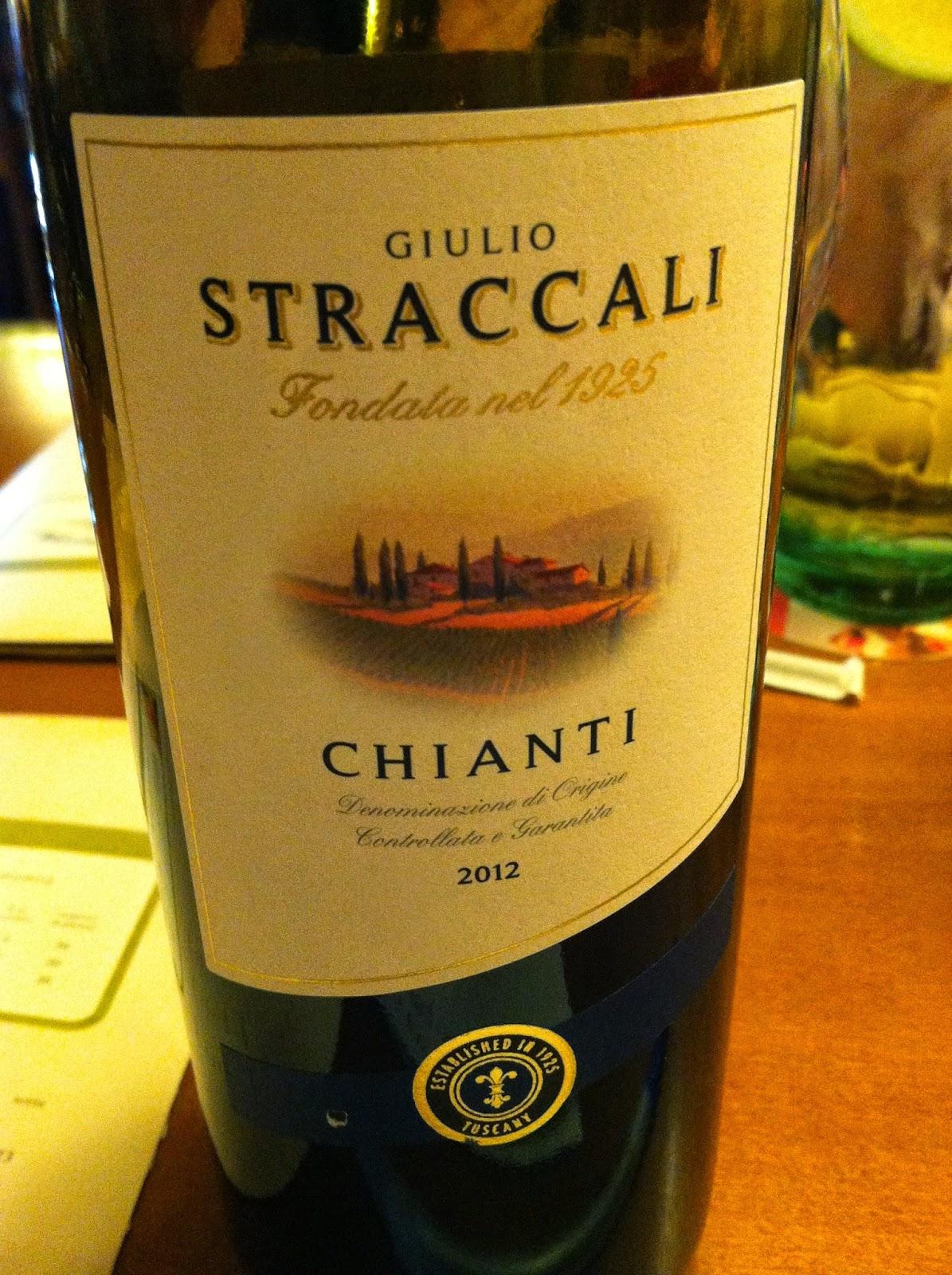 Grace\'s Wine Blog: Wine Dinner - Olive Garden (Tuscany)