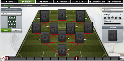 FUT 13 Formations - 3-4-3 - FIFA 13 Ultimate Team