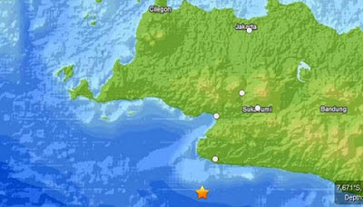 Gempa Sukabumi 4 Juni 2012 6,1 SR
