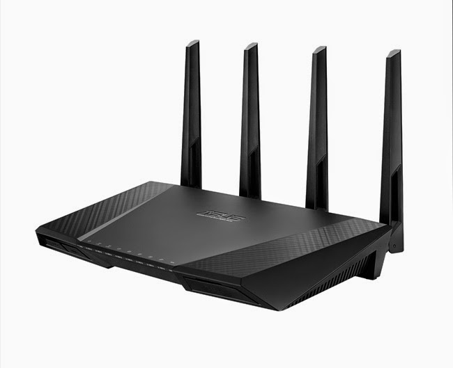 ASUS RT-AC87U AC2400 Dual-Band Gigabit Wireless Router Features and Specifications screenshot 1
