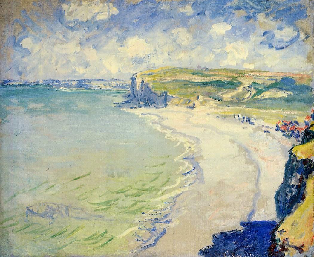 La plage à Pourville (1882)