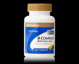 B-Complex, Blog Jom Sihat Ceria, FB Page, Pengedar Shaklee Kuantan, Produk SHAKLEE, Tips,