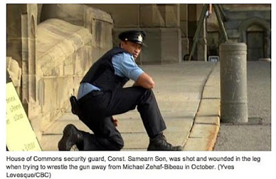 Constable Samearn Son - wounded by .30-30 round
