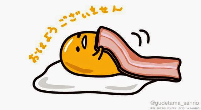 Gudetama Bacon Blanket